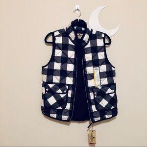 NWT Woolrich Plaid Winter Vest - CLASSIC!
